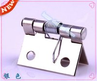 Wholesale Crafts for wooden jewelry box vintage hinges crafts furniture hardware accessories spring silver color hinge