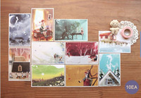 Wholesale Freeshipping NEW Annie and daddy long legs postcard NEW Pinocchio and the brothers Grimm postcard GGift Card Fashion Gif