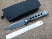 ball dr - Newest Russian shirogorov Dr Death Mayo ball bearing Folding Knife D2 Titanium Carbon Fiber Camp Hunting Survival Knives Outdoor EDC Tools