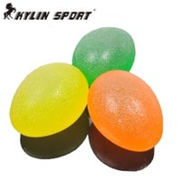Wholesale Tasteless green silicone massage ball children sensory integration training equipment tactile grip
