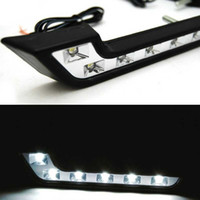 fog - Car LED daytime running light White Driving Fog Lamp V DRL Daytime Running Light For Benz