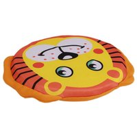Wholesale Cute Animal Flying Disc Resistant Training Toy Play Frisbee Tide