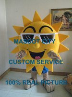 beach fancy dress costumes - Summer Beach Sunshine Cool Joyful Sunglasses Sun Mascot costume custom fancy costume anime cosply theme fancy dress carnival costume