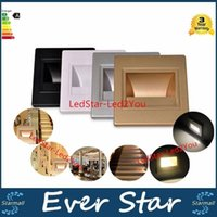Wholesale Recessed Led Stair Light New Lamps Arandela Modern v w Wall Lights In Step Lamp Indoor