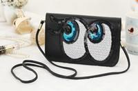 big crossbody purses - Women Lady Wallet Women Purse Cute Big Eyes Design Bag Cartoon Crossbody Bag colors Clutch Fashion Wallet