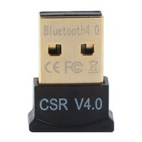 Wholesale Bluetooth V4 Version USB Bluetooth Wireless Micro Adapter EDR MINI Dongle Compatible For PC Windows DHL FEDEX