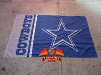 Wholesale polyester cm Dallas Cowboys Football Club house flag Digital Printing
