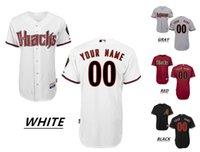 arizona wear - 2016 Custom Arizona Diamondbacks Cool Base Majestic Throwback Baseball Jerseys JOHNSON Home Away Men s High Quality MLB Stitched Wear
