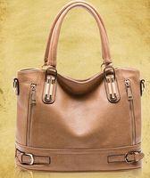 Wholesale 2016 Hot Sale New genuine leather women s handbag new fashion handbag for women shoulder big bags Vintage Brand