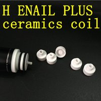 Wholesale H nail Replacement coil Attachment VS magnet Carb Cap Dabber tool Glass Pipe GR2 Titanium Carb Caps Domeless titanium ceramic coil nail