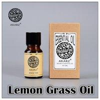 Wholesale AKZRZ Famous Brand Pure Natural Aromatherapy Lemon Grass Essential Oil Prevent Beriberi Mosquito Repellent Relax Y076