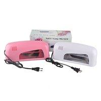 professional nail dryer - Professional UV Nail Art Dryer Lamp W Nail Art Tools Gel UV Lamp Light Nail Dryer V Quick Dry Lamp