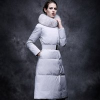 belted puffer coat - Hooded Down Jacket Coat With Fur Collar Belt Slim Puffer Outwear WOMEN Light Weight Down Hooded Coat