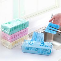 Wholesale 8 Package Brand New Non woven Fabric Dish Cloth Disposable Kitchen Rags Multipurpose for Home FG091106