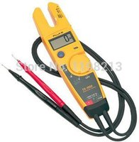Cheap Wholesale-FLUKE T5-600 Clamp Meter Fluke T5 Electrical tester with Current, Check Voltage, Continuity and Current 600V 1000V AC Original