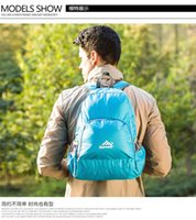Wholesale backbag cycling mountain climbing backbag travelling shoulder bag casual unisex backbag fashion men s backbag
