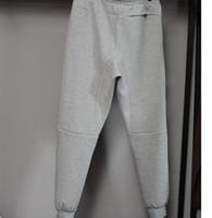 active bottoms - Hot Tech Fleece Sport Pants Space Cotton Trousers Men Tracksuit Bottoms Man Jogger Tech Fleece Camo Running pant Colors