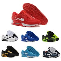 Cheap 2016 authentic high-quality sports shoes AIR max 90 men's running shoes cheap online sales EUR size 40-45 free shipping