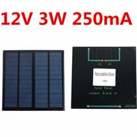 Wholesale New Solar Panel Module for Light Battery Cell Phone Charger Portable V W DIY x x mm incredibly efficient output