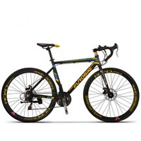 Wholesale The latest aluminum road bicycles double disc brake road car C sports car riding preferred