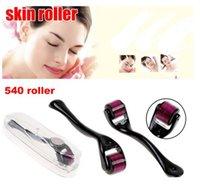 Wholesale 0 mm Needles Derma Micro Needle Skin face Roller Dermatology Therapy Microneedle Dermaroller Rolling hot