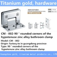 Wholesale Welding stainless steel bathroom glass clamp bathroom glass door clamp shower room hardware accessories