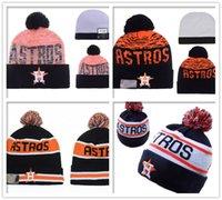 bamboo houston - 2016 Houston Astros Beanies Winter High Quality baseball Beanie Men Women Skull Caps Black Orange Knit Cotton Hats