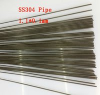 Wholesale 1 x0 mm Hard Condition Stainless Steel capillary pipe SS304 small tube About mm pc