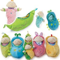 Wholesale 33cm Newest Manhattan Sweet Pea Princess Prince Comfort Plush Toy Colorful Lovely Doll Baby Toy For Years Kids Infant