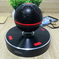 audio magnetic - MOXO X Magnetic Levitation Suspending Flowing Buetooth Speaker NFC Wireless Bluetooth Speaker Audio Stereo Music Player For Smart phone