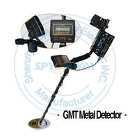 Wholesale hot sales GMT Professional Metal Detector Underground Metal Detector Gold High Sensitivity and LCD Display Metal Detector Finder