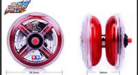 Wholesale Hot sale Flame wind yoyo Professional Glow Glare Components Butterfly KK Bearing Metal Yoyo Toys