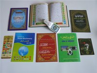 Wholesale 8G LCD Quran Reading Pen inch LCD screen quran pen with word by wor quran book
