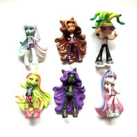 abbey bominable - High School Dolls cm Clawdeen Wolf Abbey Bominable Venus Mcflytrap Rochelle Goyle Action Figure Doll Toy Christmas Gifts For Girls