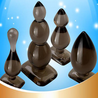 Wholesale Sextoys Sale - Sale Sex tools 4 pcs set Anal Plug Butt Beads,Soft big anal dildo buttplug,Prostate Massager Sextoys for Female Adult Products