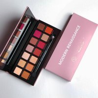 Wholesale STOCK HOT Sell Anaa stasia Modern Renaissance Eye Shadow Palette Colors Professional eyeshadow Palette With Brush Pink