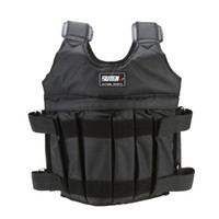 Wholesale Adjustable Weighted Vest Weight Jacket Exercise Boxing Training Waistcoat Invisible Weightloading Sand Clothing