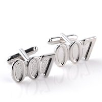alloy electroplating zinc - 2016 new jewelry movie electroplating men s cuff links men s clothing accessories zinc alloy g pair suit wear