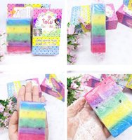 Wholesale OMO White Plus Soap Colorful Plus Five Bleached White Skin Gluta Rainbow Soap For Body DHL Free