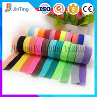 Wholesale mm DIY Clothes Bags Sewing Craft Wide Elastic Band Spandex webbing Ribbon Bias Binding Tapes