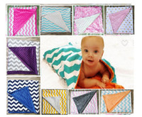 Wholesale 2017 High quality color baby chevron Wave Print swaddle wrap blanket blanket towelling baby spring summer baby infant blanket cm