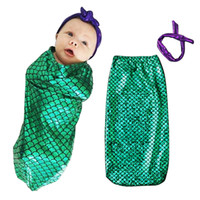 baby sleeping sacks - Baby Sleeping Bag anti Tipi Clouds Printed BeddiBaby Sleeping Bag Fish scales Pring Kids Infant Bed Warm Wrap Sleeping Sack With Striped Hat