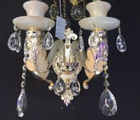 Wholesale European manufacturers selling warm glass crystal wall lamp bedside lamp wall lamp tube Butterfly