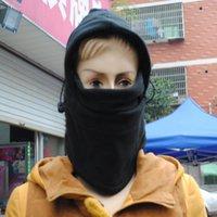 Wholesale Outdoor Beanies cycling warm hat cycling face protection neck windbreak fleece cap men and women cs headgear mask