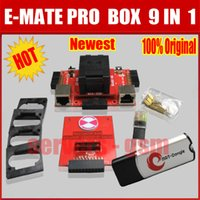 CN bga socket - New Original E MATE PRO BOX E Socket in with BGA169E BGA162 BGA with EMMC BOX for Meizu unlock