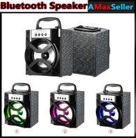 MS-134BT Haut-parleurs Bluetooth Haut-parleurs portatifs TF Card FM Radio Haut-parleur Sound Box USB 3.5mm Wired Plug Haut-parleur extérieur pour téléphone intelligent