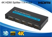 Wholesale Hot Sales Enconomic ports HDMI Splitter x4 Special better compatibility for home theatre for DVD STB PS3 D P plug play Kx2K