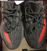 big green boxes - Original Final Version V2 Sply Big size us13 us12 Beluga Grey Orange Real Boost With Receipt Box Socks Kanye West Running Shoes