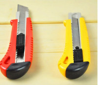 Wholesale candy color art knife office tool knife hand cut
