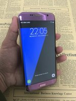 Android couleur email Prix-Violet couleur go7phone s7 Android android 6.0 smartphone Quad Core MTK6580 1Go RAM 8Go ROM 1280 * 720 5.5